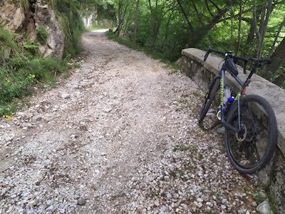 Salita al Monte Civillina in gravel bike